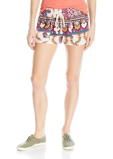 Roxy Women's Oceanside Printed Beach Shorts  L