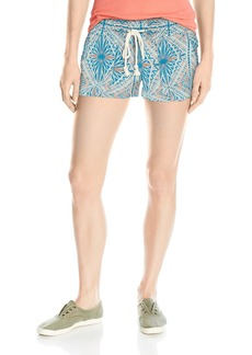 Roxy Women's Oceanside Printed Beach Shorts  M