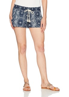 Roxy Women's Oceanside Printed Non-Denim Shorts  L
