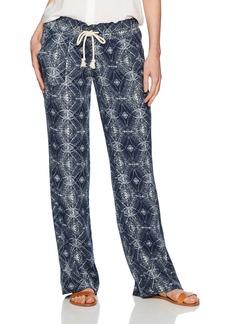 Roxy Women's Oceanside Printed Pant  L