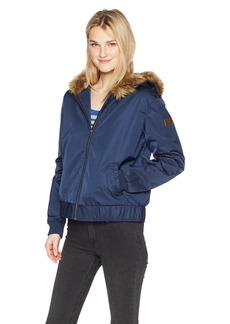 Roxy Women's Oh Reely Bomber Jacket  XL