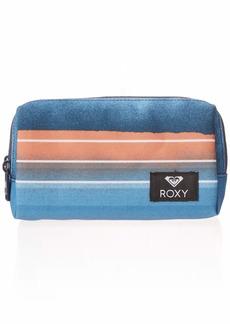 Roxy Women's Pipeline Pencil Case Pouch air blue spray Stripe