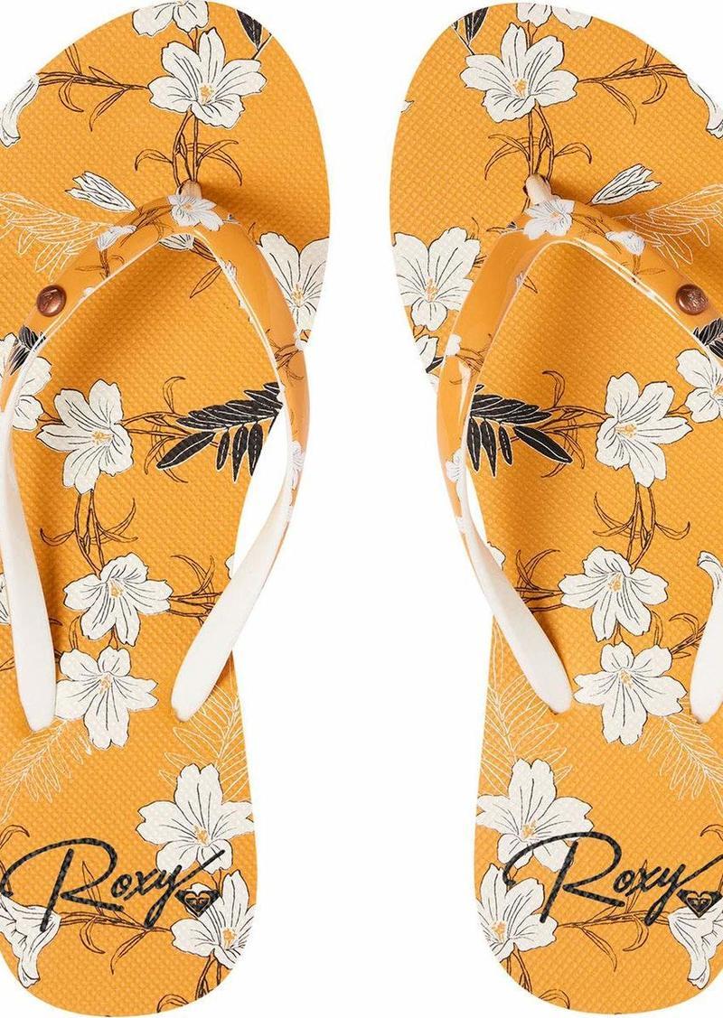 Roxy Women's Portofino Flip-Flop Sandal   M US