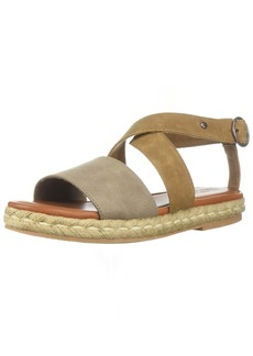 Roxy Women's Raysa Wedge Sandal tan  M US