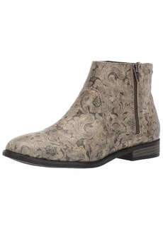 Roxy Women's Roces Embossed Bootie Ankle   M US