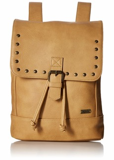 Roxy womens Same Dreams Small Backpack camel 1SZ