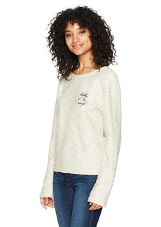 Roxy Women's Saturdaze Fleece Sweatshirt  L