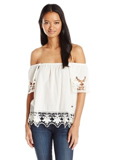 Roxy Junior's Second Wave Off The Shoulder Top  M