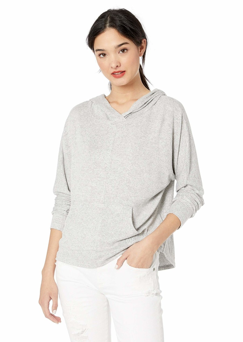 Roxy Women's Secret Path Cozy Pullover Hooded Top  M