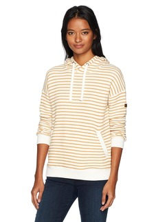 Roxy Women's Shoal Hoodie Stripe Spruce Yellow Friday Stripe ERJFT03497 M