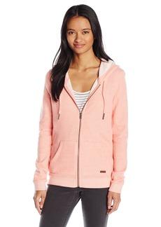 Roxy Women's Signature Fleece Zip up Hoodie  S