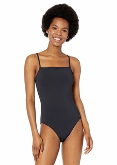 Roxy Women's Solid Beach Classics One Piece Swimsuit  S