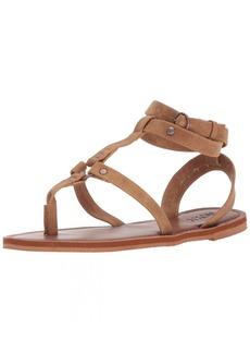 Roxy Women's Soria Sandal Flat   M US