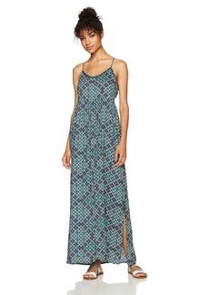 Roxy Women's Start Something Dress Reflective Pond Liberia ERJWD03161 L