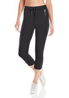 Roxy Women's Stay On Capri Workout Pant  M
