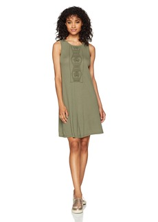 Roxy Women's Stay Simple Dress Dusty Olive ERJKD03135 XL