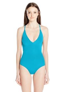 Roxy Women's Strappy Love Criss Cross One Piece Swimsuit  S