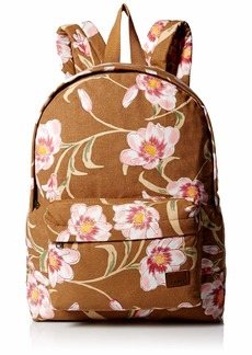 Roxy Women's Sugay Baby Canvas Backpack chipmunk SURFIN love