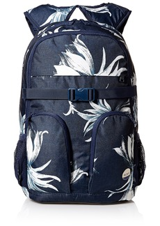 Roxy Women's Take It Slow Backpack Dress Blue Cadaques Flower