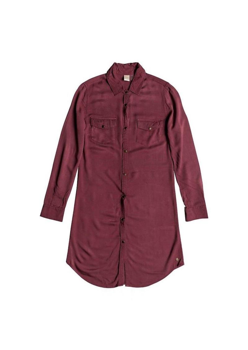 Roxy Women's Tomini Bay View Shirt Dress