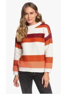 Roxy Women's Trip for Two Stripe Sweater