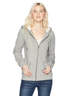 Roxy Women's Trippin Sherpa Zip up Flece Sweatshirt  L