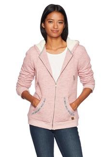 Roxy Women's Trippin Sherpa Zip up Fleece Sweatshirt  XS
