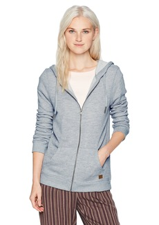 Roxy Women's Trippin Zip up Fleece Sweatshirt  M