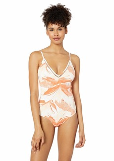 Roxy Junior's Tropical Sand One Piece Swim Suit  XS