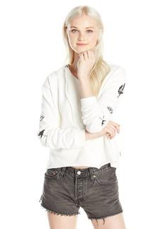 Roxy Women's Twinfinning B Hooded Pullover Fleece Sweatshirt  L