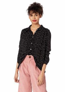 Roxy Women's Urban Earth Shirt True black dots for days L