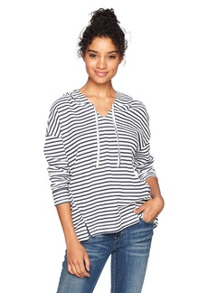 Roxy Women's Wanted and Wild Striped Hooded Sweater  XS