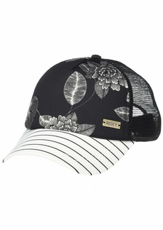 Roxy Women's Water Come Down Trucket Hat anthracite flower of love 1SZ
