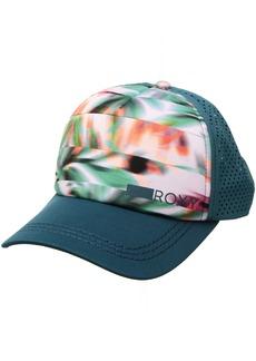 Roxy Women's Waves Machines Trucker Hat Pale Dogwood Swim Cuban Corn ERJHA03319 1SZ