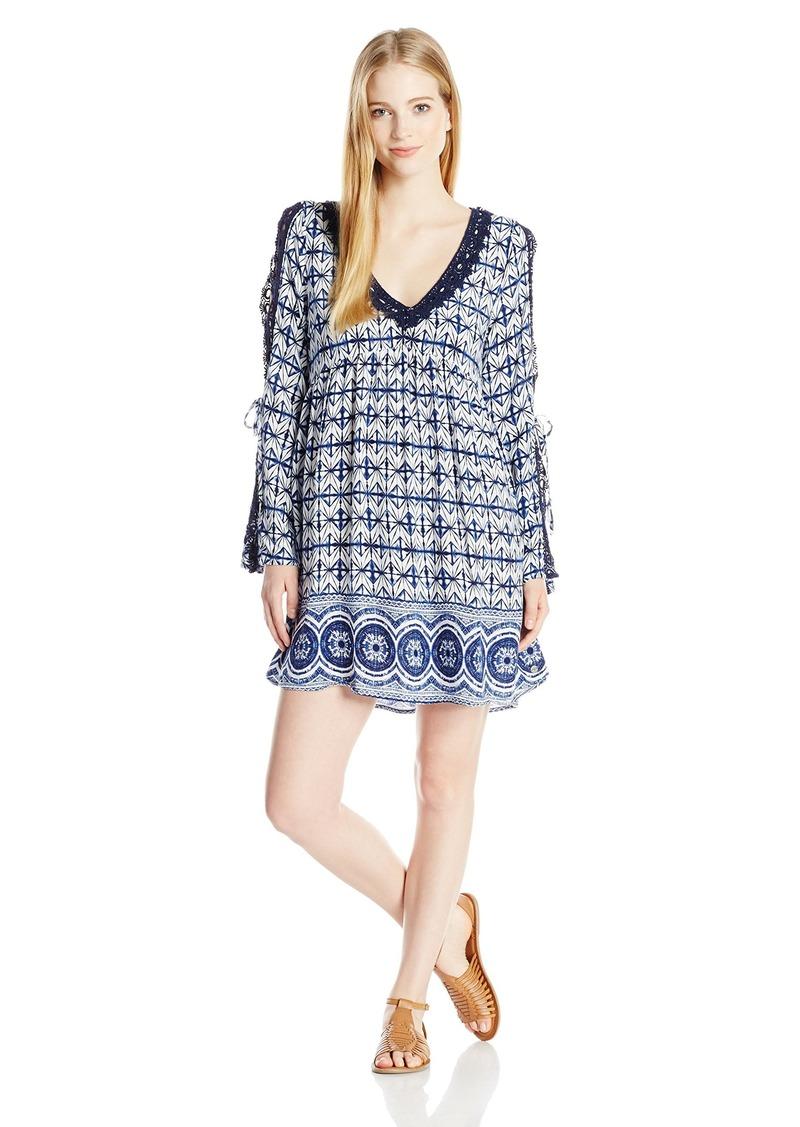 Roxy Junior's Wendi Printed Woven Shift Dress