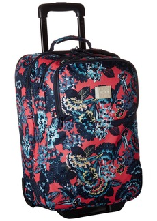 Roxy Women's Wheelie Rolling Suitcase Rouge RED Mahna