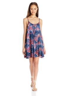 Roxy Women's Windy Fly Away Print Cover-up Dress  S