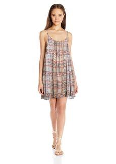 Roxy Women's Windy Fly Away Print Coverup Dress  M