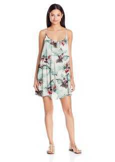 Roxy Women's Windy Fly Away Print Dress 2 Cover up  S