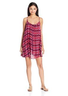 Roxy Women's Windy Fly Away Print Dress 2 Cover up  S