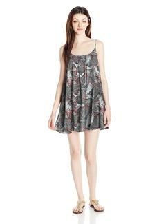 Roxy Women's Windy Fly Away Print Dress Cover up  L