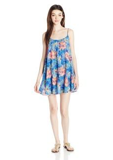Roxy Women's Windy Fly Away Print Dress Cover up  M