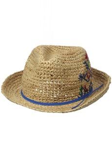 Roxy Junior's Witching Raffia Straw Hat  M/L