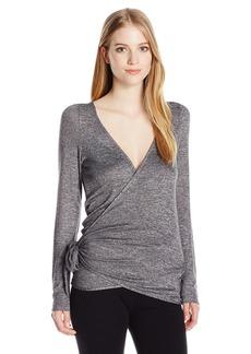 Roxy Women's Wrappy Fleece Wrap Top  XL