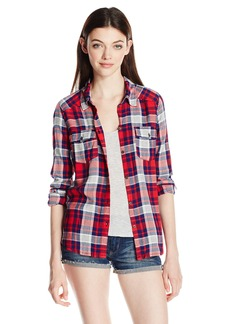 Roxy Junior's You Plaid Top  S