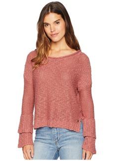 Roxy Ruffle Party Sweater