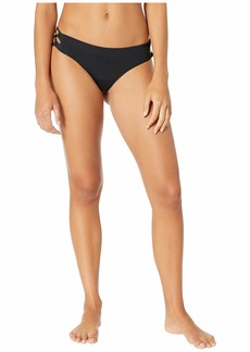 Roxy Solid Beach Classics Lace-Up Full Swim Bottoms