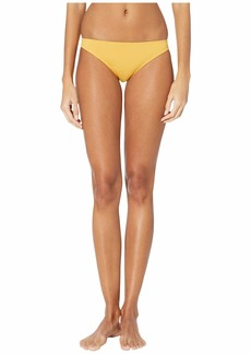 Roxy Solid Beach Classics Moderate Swim Bottoms