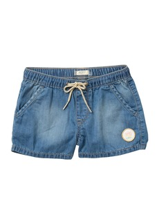 Roxy Timeless Chambray Shorts (Big Girls)
