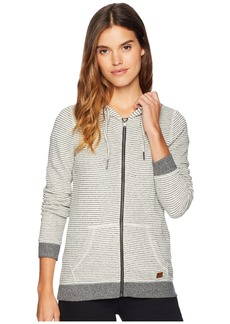 Roxy Trippin Stripes Fleece Full Zip Top